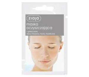 Maska oczyszczająca kaolinowa z glinką szarą