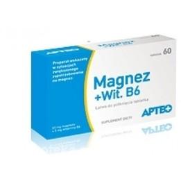 Magnez + Wit.B6 Apteo