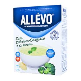 Allevo - Zupa Brokułowo-Bazyliowa