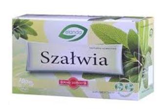Herbatka szałwiowa