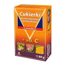 Cukierki prawoślazowo - tymiankowe z miodem i witaminą C