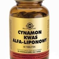 Solgar Cynamon i Kwas alfa-liponowy