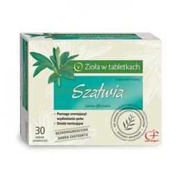 Szałwia - zioła w tabletkach