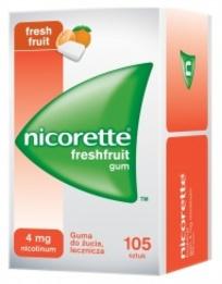 Nicorette FreshFruit Gum 4mg